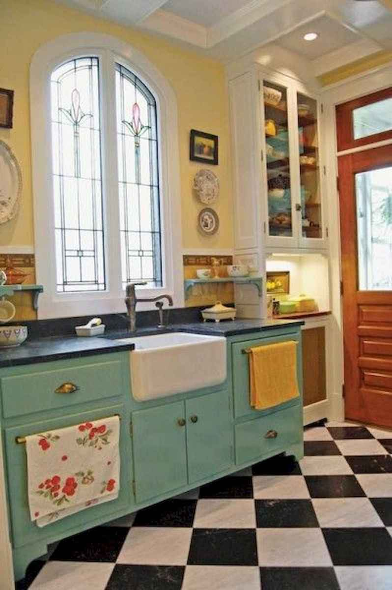 80+ Fantastic Colorful Kitchen Decor Ideas And Remodel for Summer Project (40)