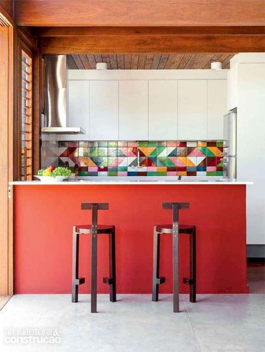 80+ Fantastic Colorful Kitchen Decor Ideas And Remodel for Summer Project (42)