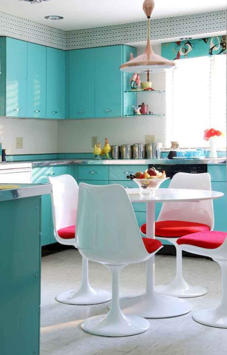 80+ Fantastic Colorful Kitchen Decor Ideas And Remodel for Summer Project (46)