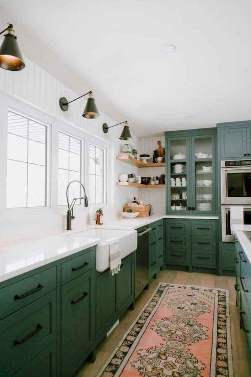 80+ Fantastic Colorful Kitchen Decor Ideas And Remodel for Summer Project (78)