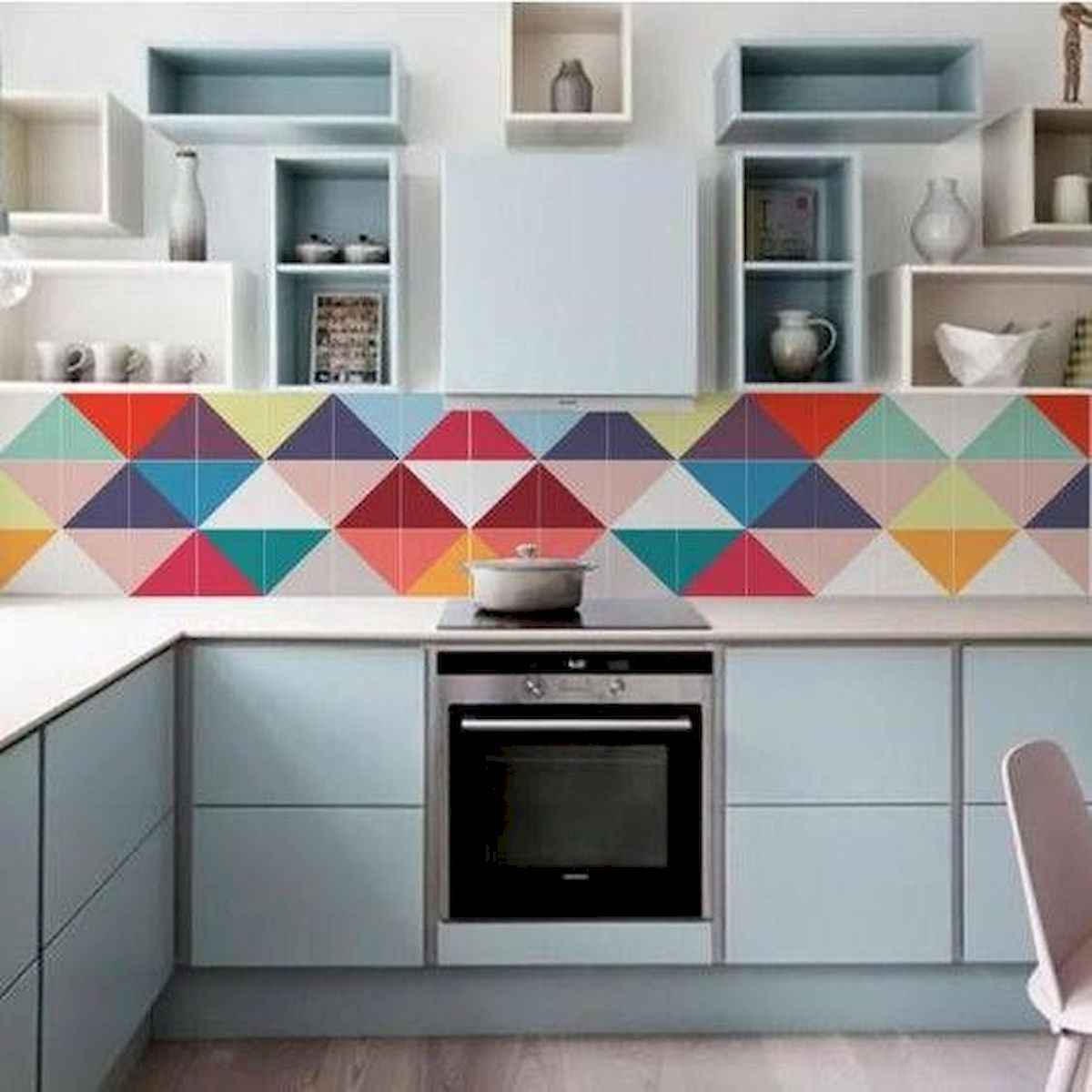 80+ Fantastic Colorful Kitchen Decor Ideas And Remodel for Summer Project (89)