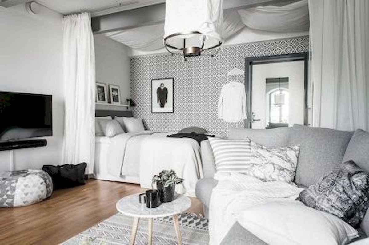 80+ Gorgeous Studio Apartment Divider Decor Ideas And Remodel (72)