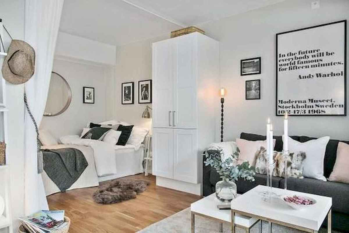 80+ Gorgeous Studio Apartment Divider Decor Ideas And Remodel (9)