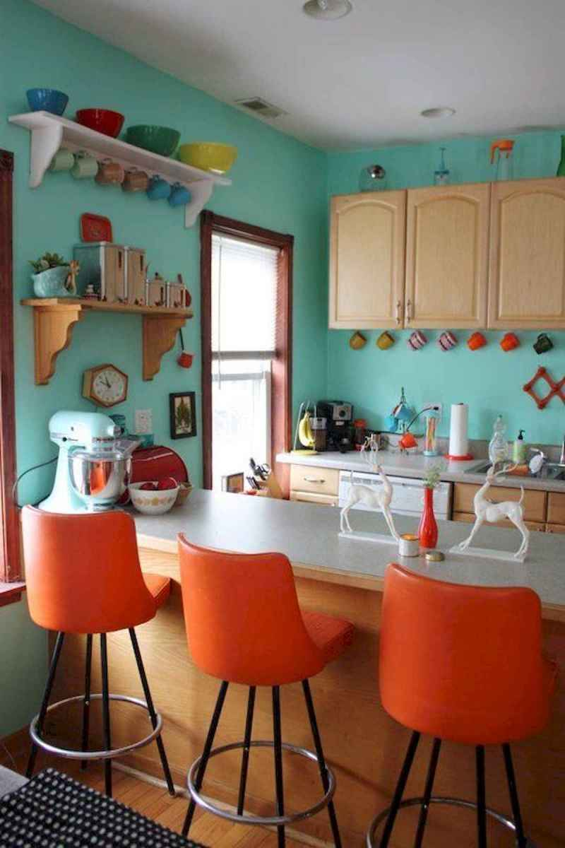 90+ Fantastic Colorful Apartment Decor Ideas And Remodel for Summer Project (22)