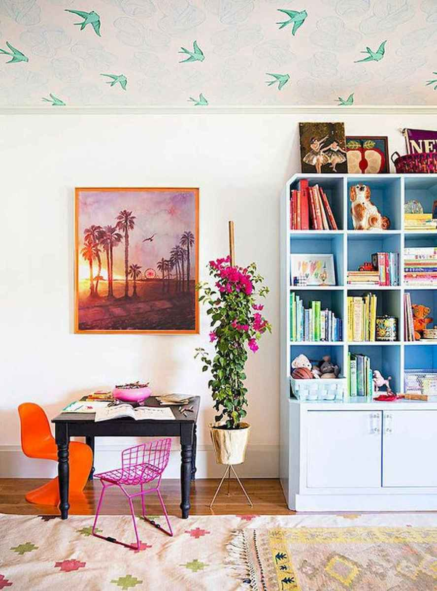 90+ Fantastic Colorful Apartment Decor Ideas And Remodel for Summer Project (77)