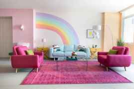 90+ Fantastic Colorful Apartment Decor Ideas And Remodel for Summer Project (83)