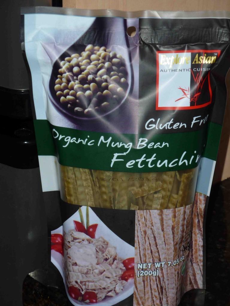 Organic Mung Bean Fettuchini  An Interesting Idea
