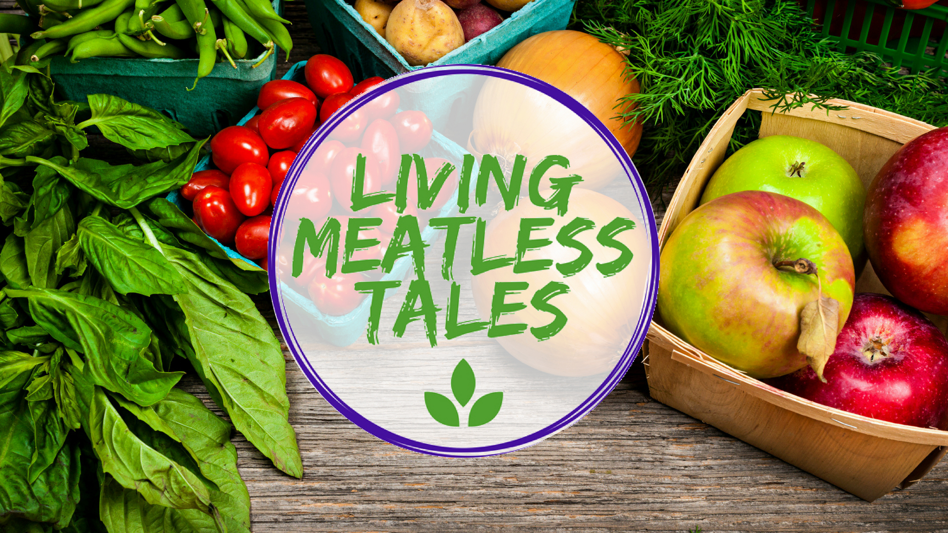 Living Meatless Tales banner
