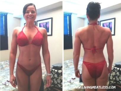 Rachel Pre-Competition Bikini Picture