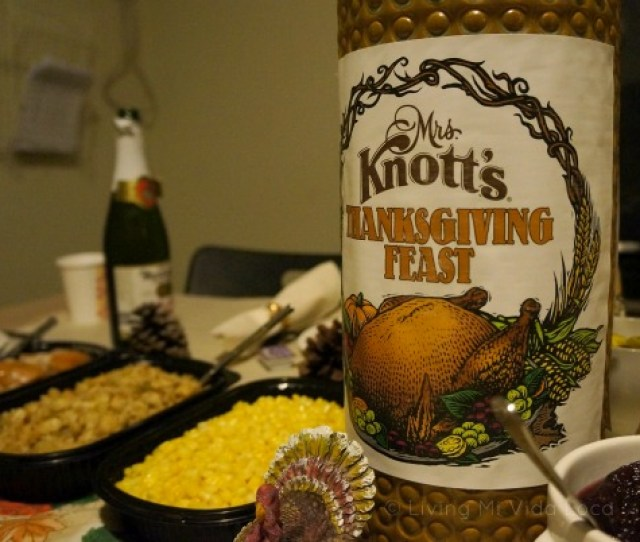 Mrs Knotts Thanksgiving Dinner