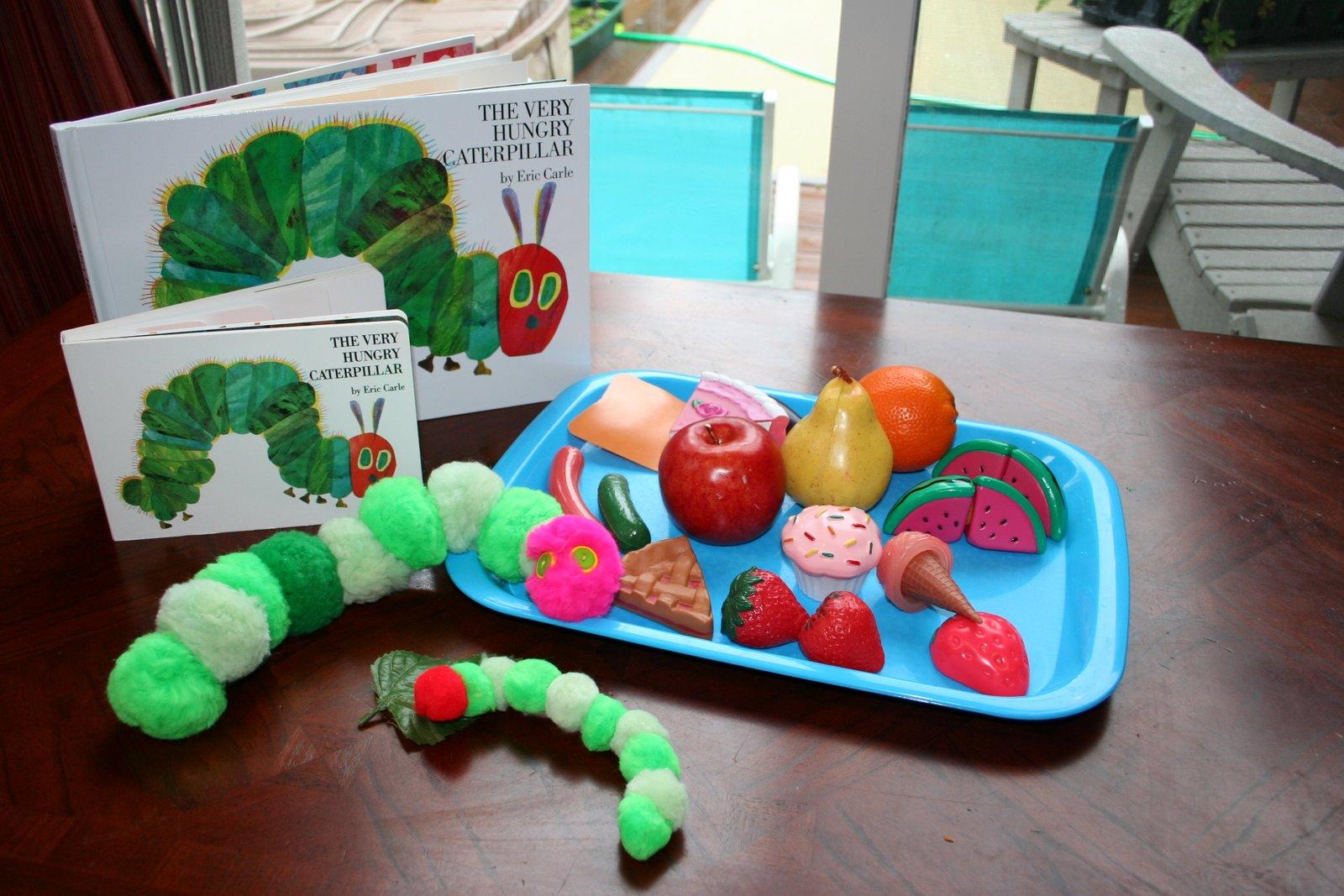Montessori Inspired Eric Carle Activities