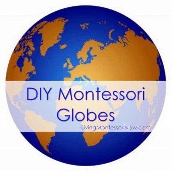 DIY Montessori Globes