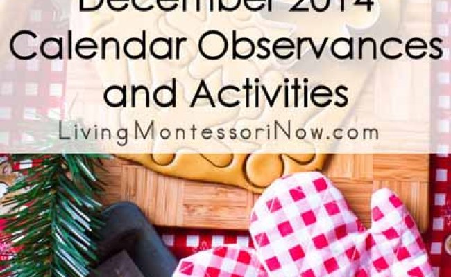 Christmas Archives Living Montessori Now
