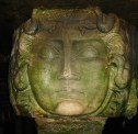Colossal Head of Medusa flipped