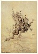 Goddess riding a Dragon