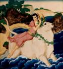Europa and the Bull by Edmund Dulac