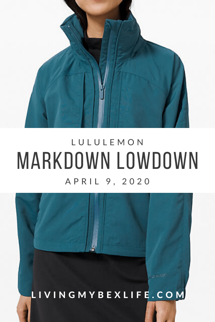 lululemon Markdown Lowdown (4/9/20)