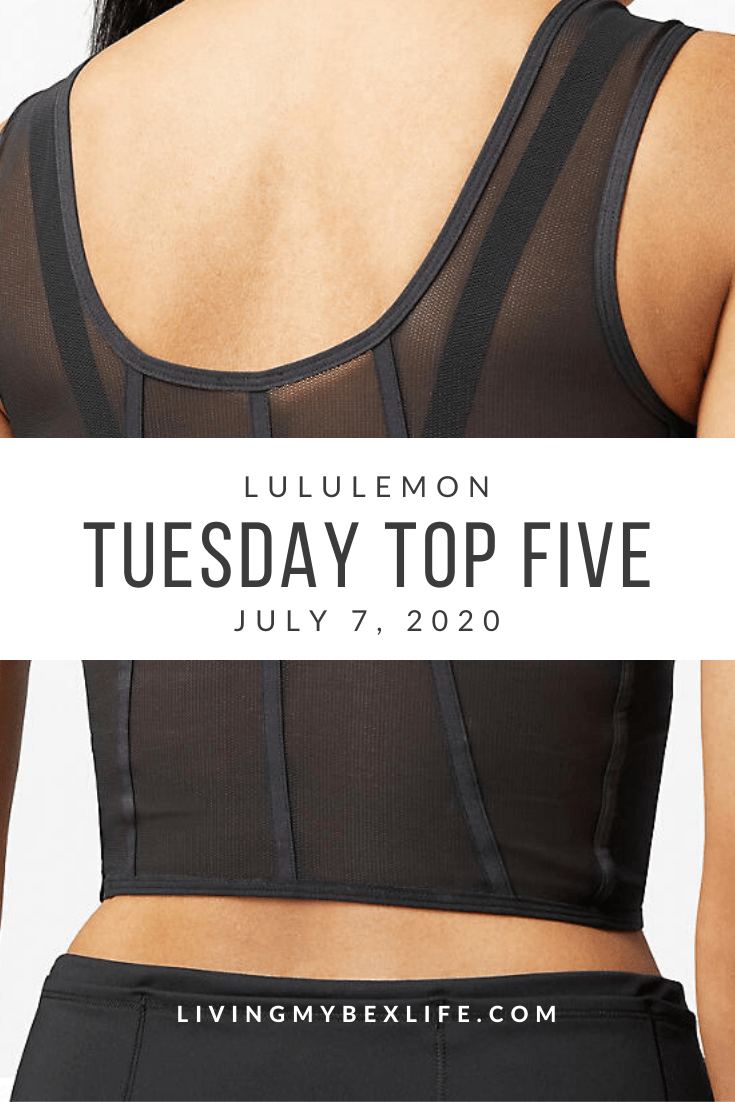 lululemon Tuesday Top 5 (7/7/20)