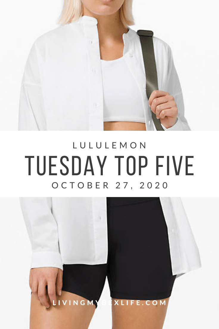 lululemon Tuesday Top 5 (10/27/20)