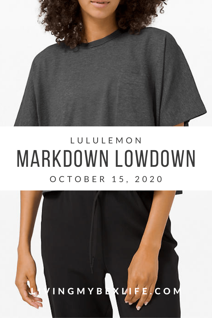 lululemon Markdown Lowdown (10/15/20)