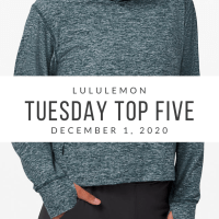 lululemon Tuesday Top 5 (12/1/20)