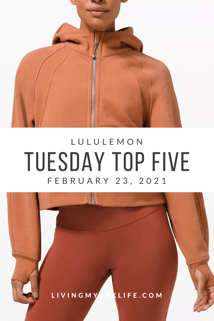 lululemon Tuesday Top 5 (2/23/21)