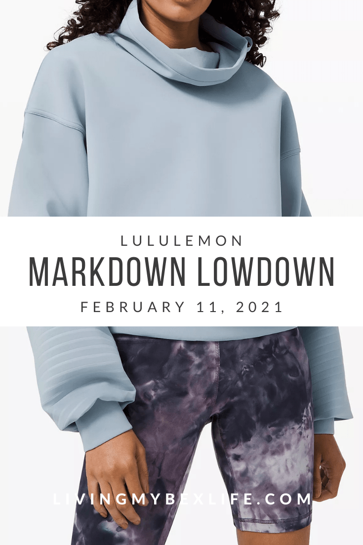 lululemon Markdown Lowdown (2/11/21)