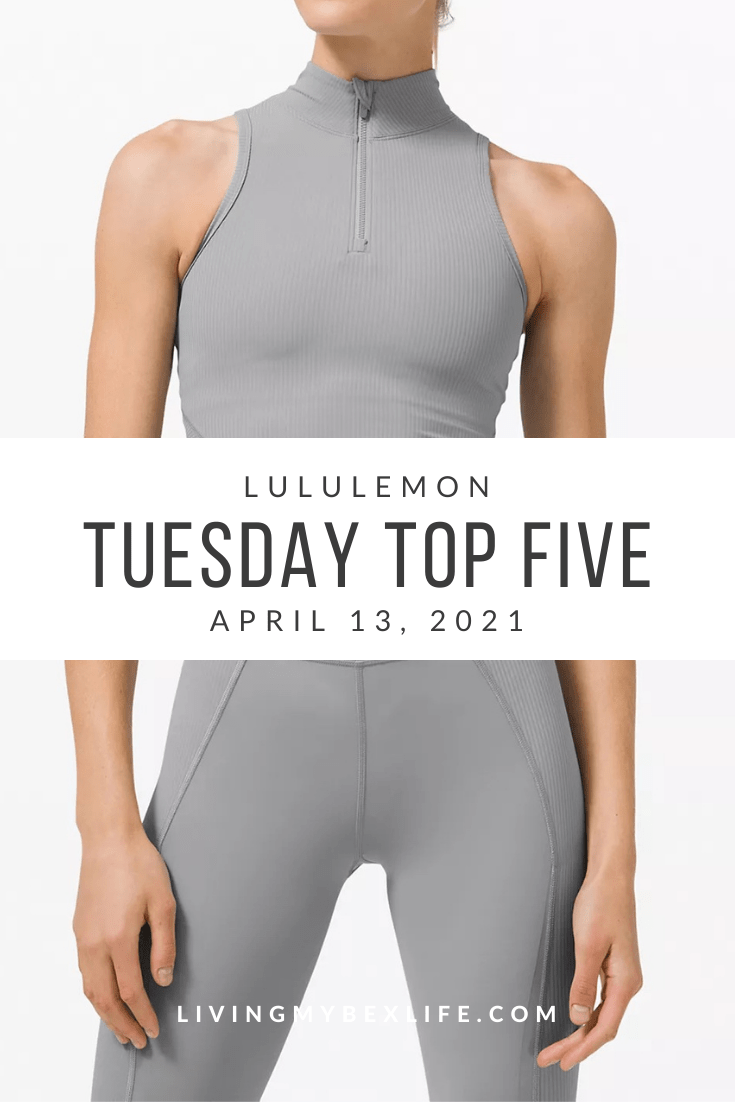 lululemon Tuesday Top 5 (4/13/21)