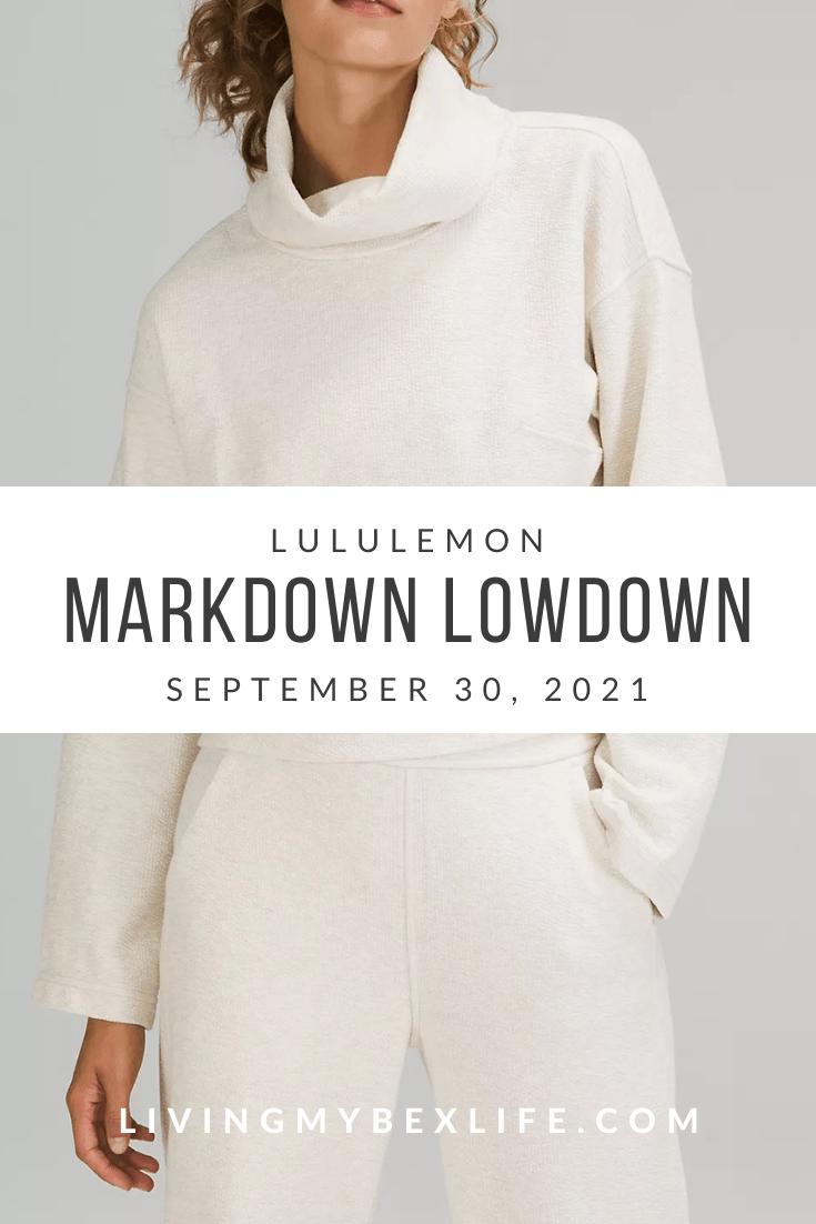 lululemon Markdown Lowdown (9/30/21)