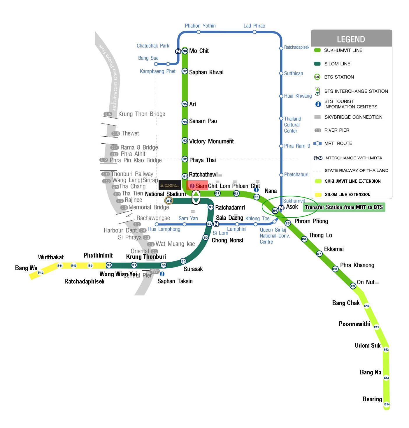 How to get around Bangkok by BTS Bangkok. MRT Bangkok & Bangkok Airport Rail Link? - Living + Nomads – Travel tips. Guides. News & Information!