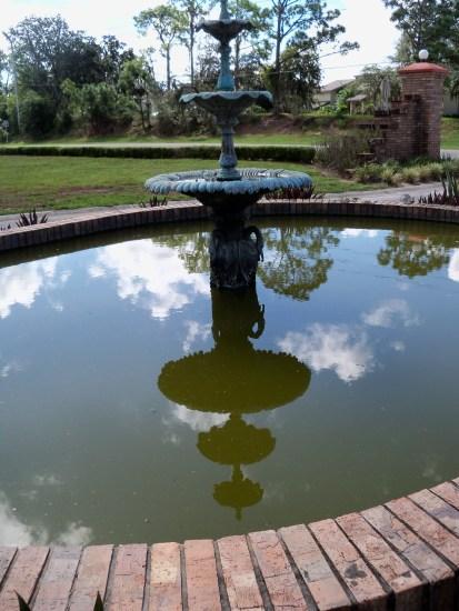 DBGC Front Fountain