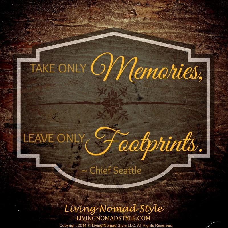 memoris and footprints