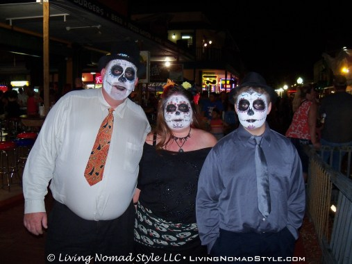 Freaky Ghost Face Family