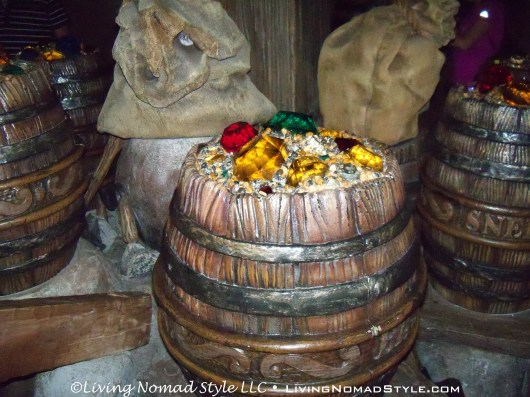 Barrel of Jewels - Seven Dwarfs Mine Ride