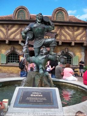 Funny Gaston Statue