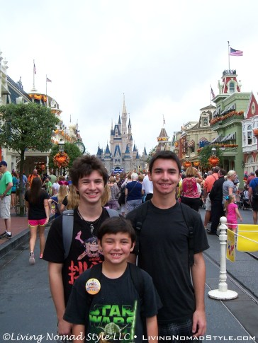 My 3 Nomads And The Castle