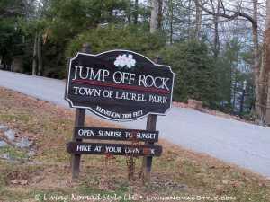 Jump Off Rock - Sign