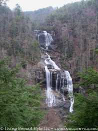 Lower View - Whitewater Falls 1
