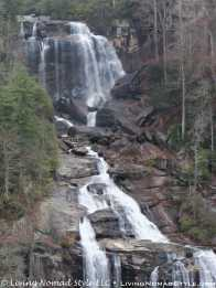 Lower View - Whitewater Falls 3
