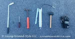 Trailer Maintenance Tools