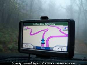 Curtis Creek Rd - GPS