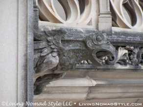 Eagle On Column