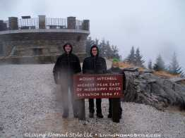 Mt Mitchell Lookout At Pinnacle 2