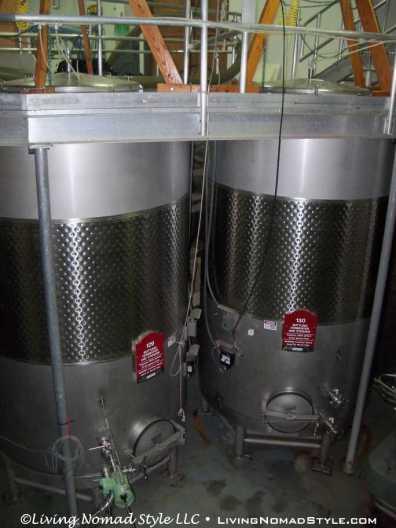 Vertical Rose Wine Tanks