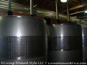 Vertical Wine Tanks With Hydraulic Press
