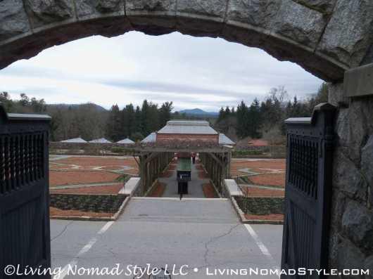 Walled Garden Entrance