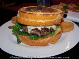 Honey Whytes Heart Attack Burger