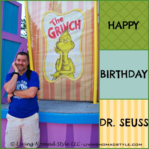 seuss bday collage