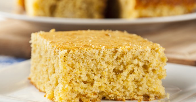 Living non-GMO cornbread recipe