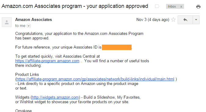 How To Become an Amazon Affiliate: Approved
